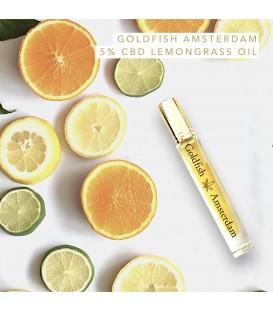 Goldfish Amsterdam 5% CBD Lemongrass Oil