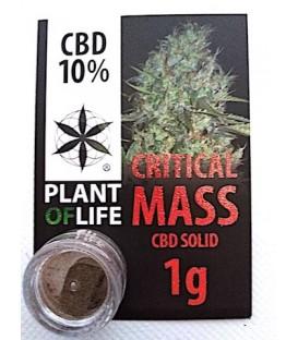 CBD solide Critical Mass 10%