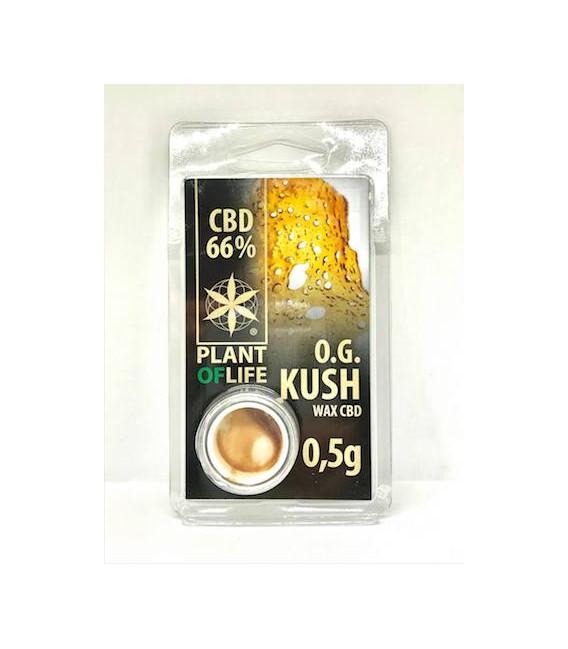 WAX CBD O.G Kush Plant of life 66%