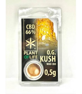 WAX CBD O.G Kush Plant of life 66%