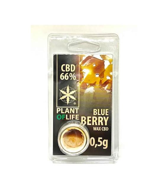 WAX CBD Blue Berry 66% Plant of Life