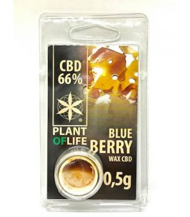 WAX CBD Blue Berry 66% Plant of Life