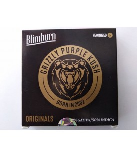 Blimburn seed Grizzly Purple Kush