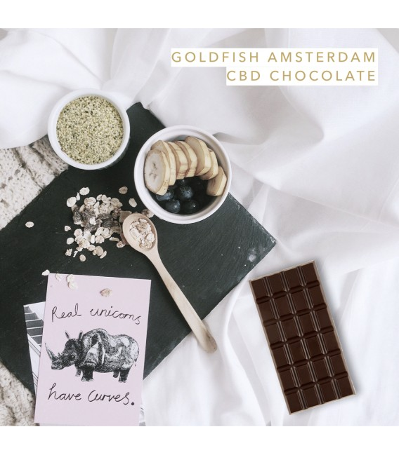 GOLDFISH AMSTERDAM CBD CHOCOLATE