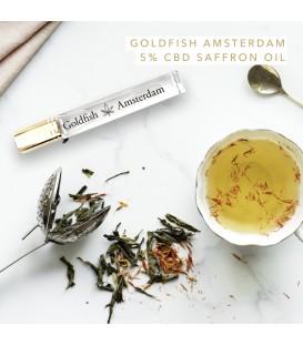 Huile de safran et MCT Goldfish Amsterdam